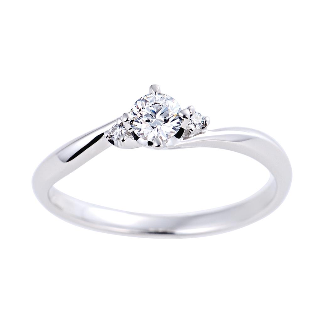 QIREINI PT900H&C ダイヤモンドエンゲージリング